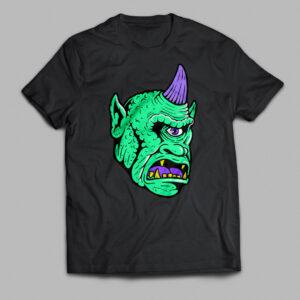 Neon Screen Print Cyclops tshirt