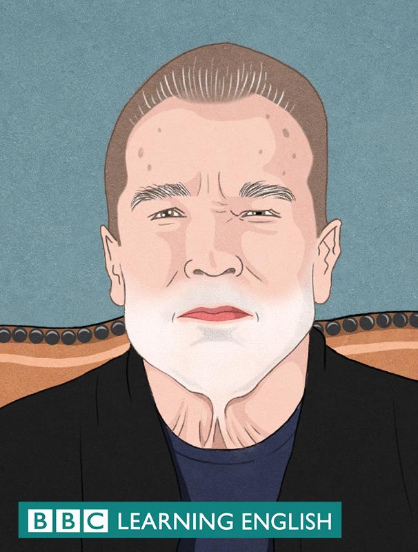 Illustation of Arnold schwarzenegger
