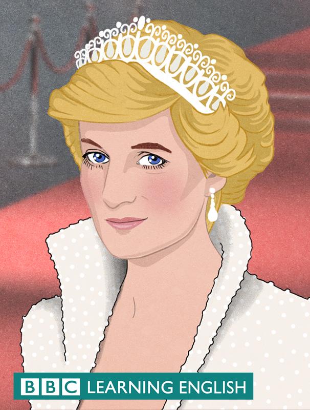 Illustration of Diana, Princess of Wales